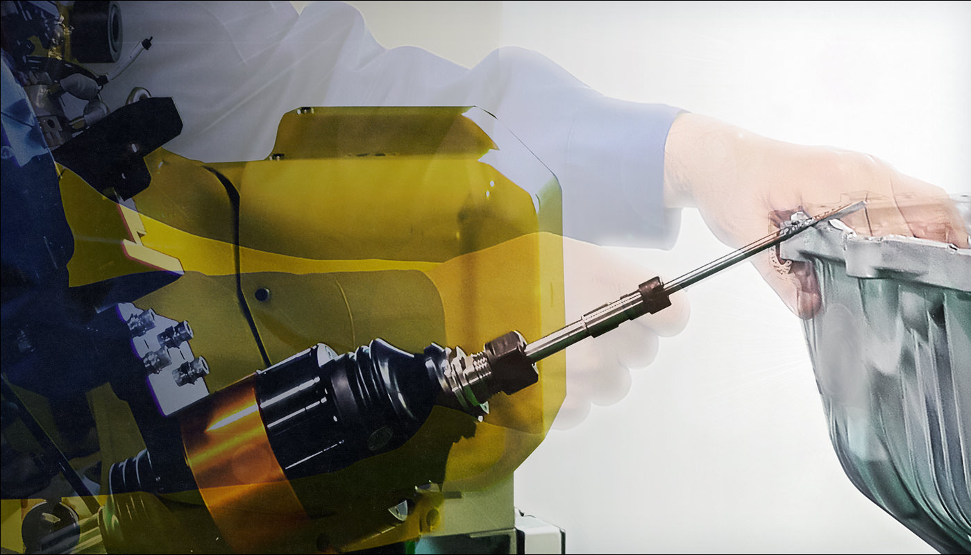 Proprietary automated deburring technology that recreates the techniques of skilled deburring technicians